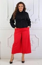 Рубашка черная Viravi Wear, модель 1018
