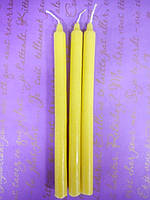 Свеча хозяйственная жёлтая