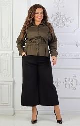 Кюлоты черные Viravi Wear, модель 1019
