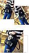 Комплект Рюкзак+Сумка+Клатч+Калтхолдер+Брелок Мишка. Два цвета. Пять котов., фото 5