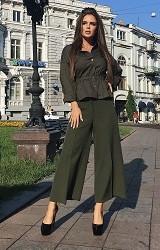 Кюлоты зеленые Viravi Wear, модель 1019