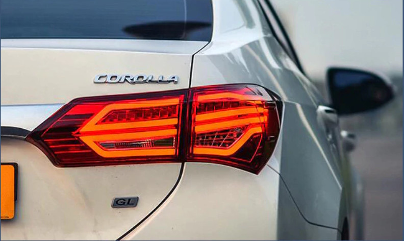 Диодные фонари LED оптика Toyota Corolla E180 (12-16) стиль 2