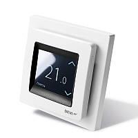 Терморегулятор DEVIreg Touch белый програм. с дисплеем (140F1064)