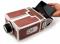 Проектор для телефона Домашний кинотеатр обеспечен Необычное приспособление Оригинальный прибор Код: КГ6411