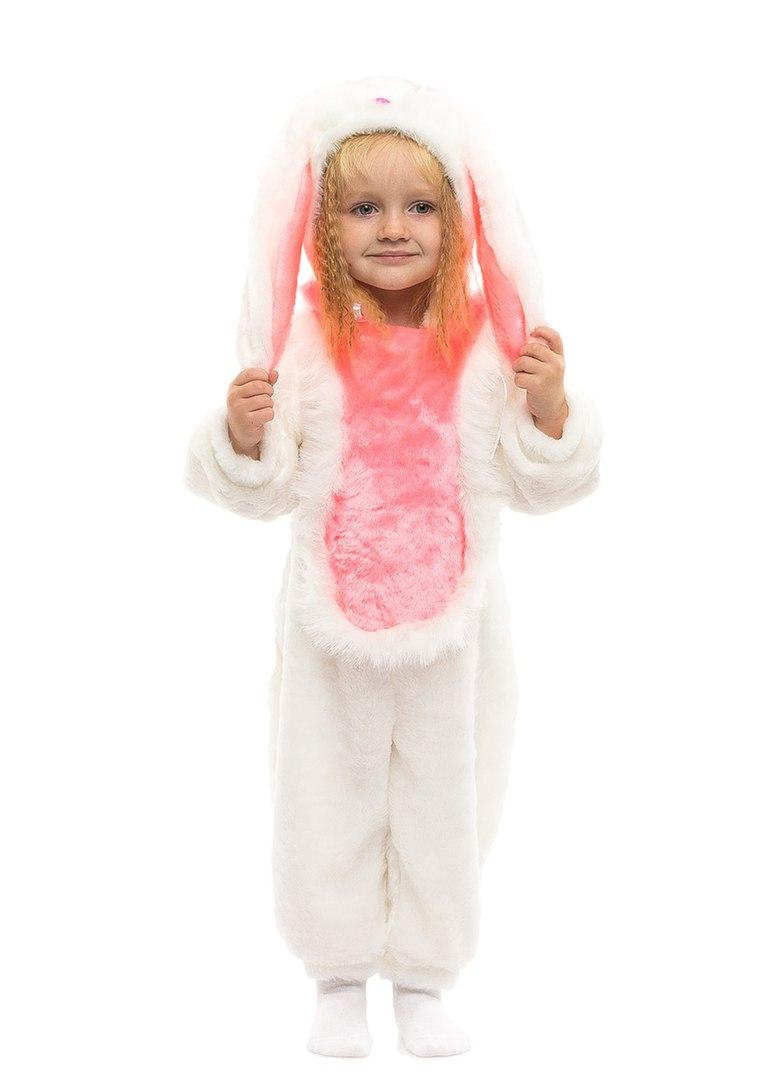 Детский красивый костюм Зайчика (комбинезон ) искусственный мех