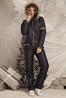 "Спортивный костюм на синтепоне ""Winter Sport"". Распродажа модели 44, темно-синий"