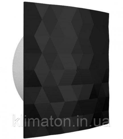 Вентилятор вытяжной Dospel Black&White 100 S Black