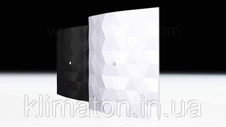 Вентилятор вытяжной Dospel Black&White 100 S Black, фото 2