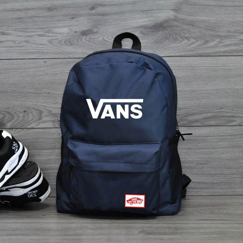 Городской рюкзак в стиле Vans of the Wall Синий