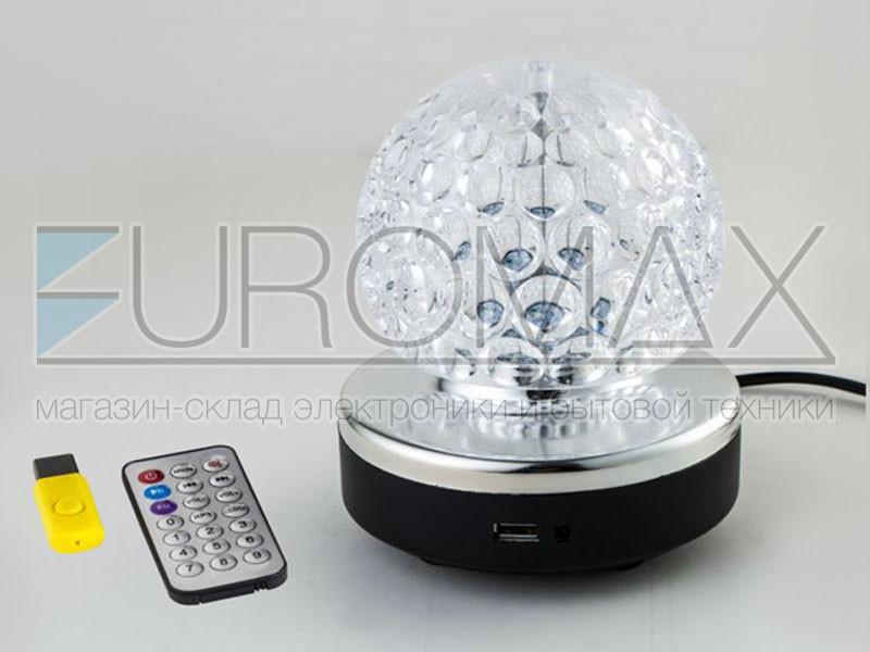 Диско шар (без обменов, без возвратов) 40шт RHD-157-MP3-BALL