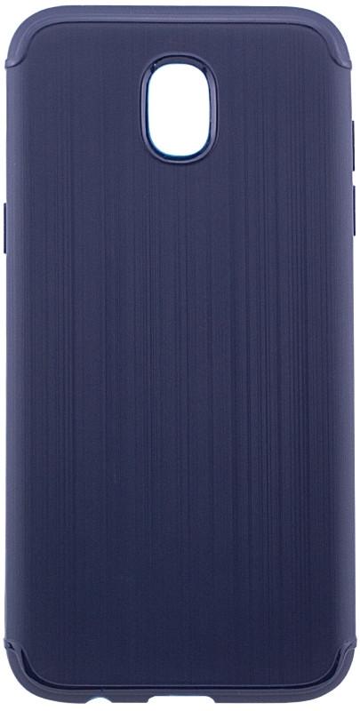 Чохол-накладка Metal для Samsung J330 Galaxy J3 (2017) Силікон Синій(425581)