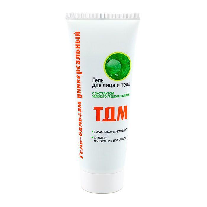 Гель от любых воспалений опухолей боли ТДМ экстракт грецкого зеленого ореха 75 мг Лаборатория Эманси