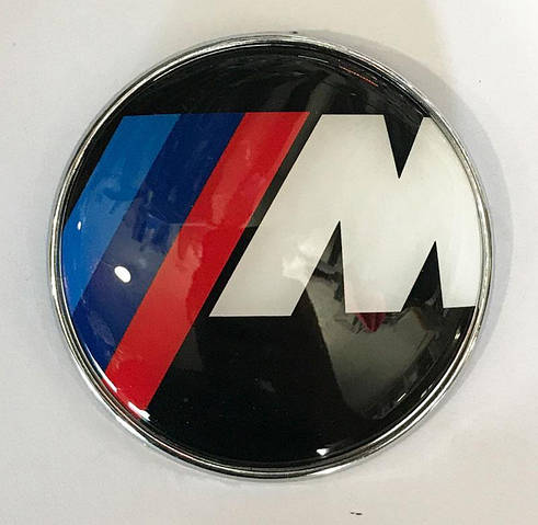 Эмблема BMW 83,5мм (между штырями 55мм) M (51148132375m)