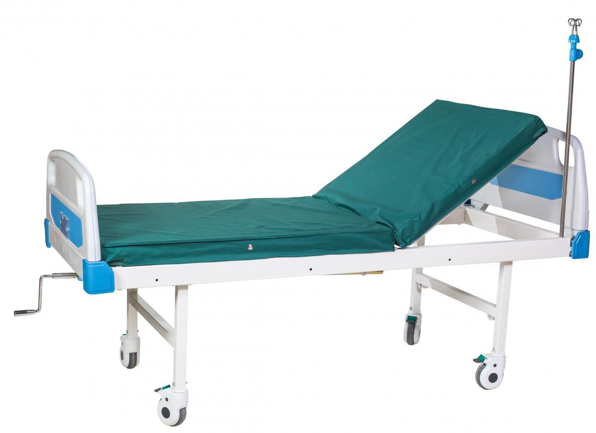 Кровать медицинская А-26 (2-секционная, механическая)