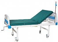 Кровать медицинская А-26 (2-секционная, механическая), фото 1