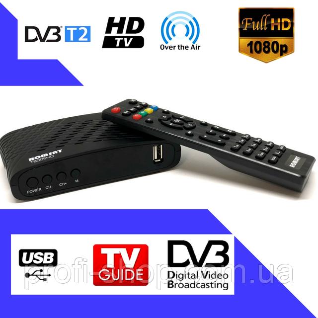Приставка T2 Romsat T8005HD   Цифровой эфирный DVB-T2 приемник