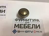 Ручка мебельная Старая Латунь РМ.56