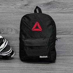 Спортивный городской рюкзак в стиле Reebok черный
