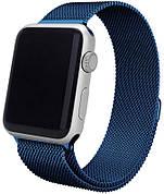 Ремінець для Apple iWatch 38mm Milanese Loop Band ser. Dark Blue(993657)