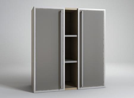 Шкаф деловой со стеклом Квант