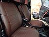 Авточехлы из экокожи Nissan Almera NEW с 2014-н.в. седан (спинка 40 на 60) Автолидер, фото 7