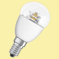 LED лампа E14 G45 5.4W OSRAM прозрачная