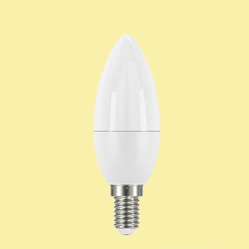 LED лампа свеча С38 Е14 5.4W OSRAM Classic матовая