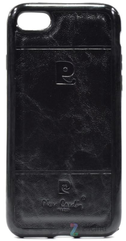 Чохол-накладка для iPhone 7 Pierr Cardin ser. Чорний