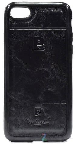 Чохол-накладка для iPhone 7 Pierr Cardin ser. Чорний, фото 2