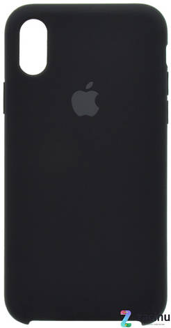 "Чохол-накладка для iPhone X (5.8"") Silicon Case ser. (veri high copi) Чорний(Black), фото 2"