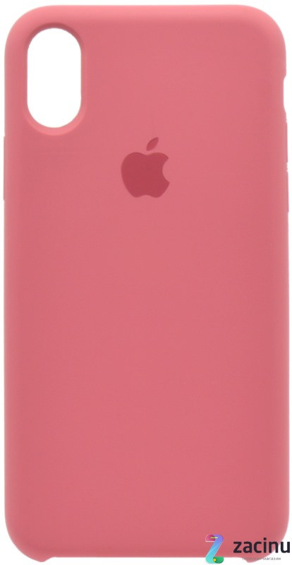 "Чехол накладка для iPhone X (5.8 "") Silicon Case ser. (Veri high copi) Розовый (Wine)"