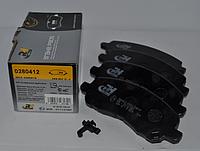 Передние тормозные колодки  ROADHOUSE для Mitsubishi Lancer X (тормозная система Akebono)