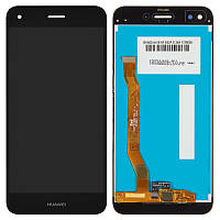 Дисплей (модуль) Huawei Y6 Pro 2017, Nova Lite 2017, P9 Lite Mini, SLA-L22 черный