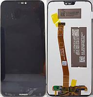 Дисплей (модуль) Huawei P20 lite, 51092GPP черный