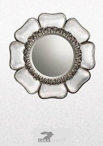 Зеркало настенное античное серебро ASFC1966