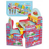 """Детская стол-парта со стульчиком Bambi W 026 «Тачки""""киев, фото 1"""