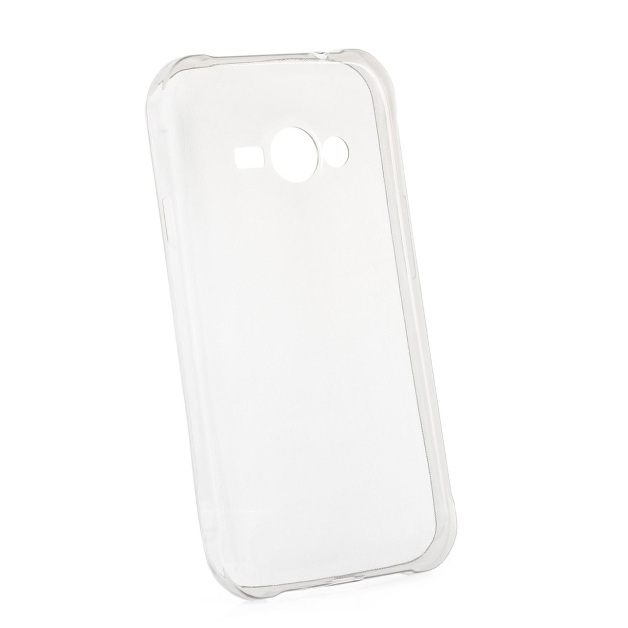 Чохол-накладка TPU для Samsung J110 J1 Duos Ultra-thin ser. Прозорий/безколірний