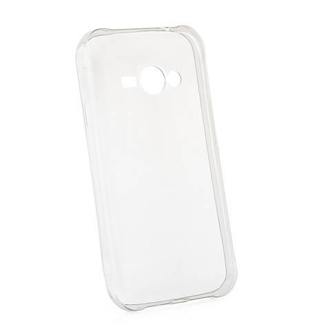 Чохол-накладка TPU для Samsung J110 J1 Duos Ultra-thin ser. Прозорий/безколірний, фото 2