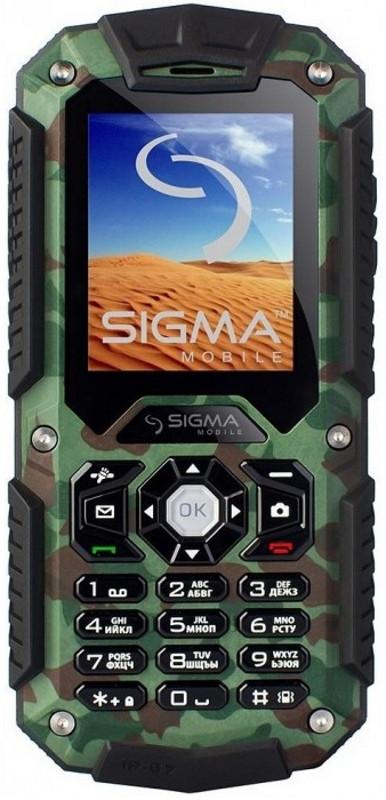 Мобільний телефон Sigma X-treme IT67 Khaki