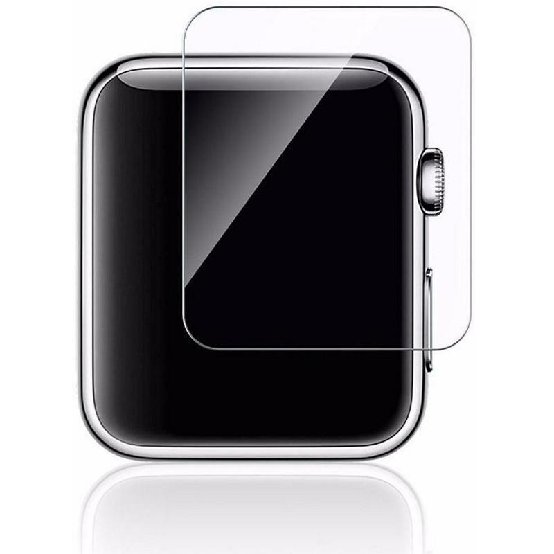 Захисне Скло Tempered Glass для Apple iWatch 42мм Прозорий