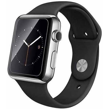 Захисне Скло Tempered Glass для Apple iWatch 42мм Прозорий, фото 2