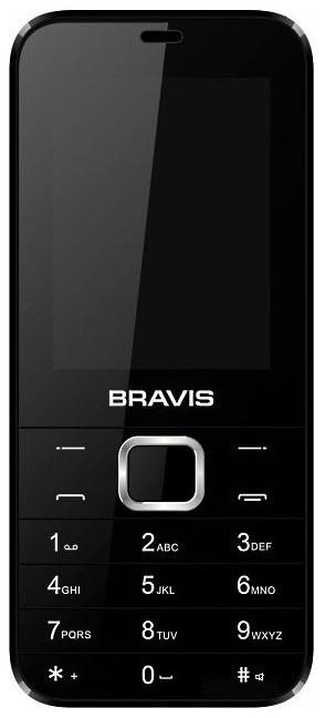 Мобільний телефон BRAVIS F241 Blade (чорний)