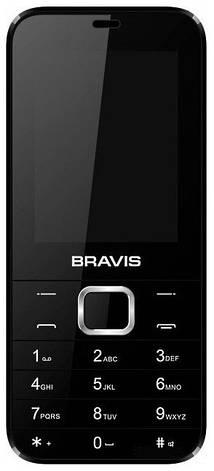 Мобільний телефон BRAVIS F241 Blade (чорний), фото 2