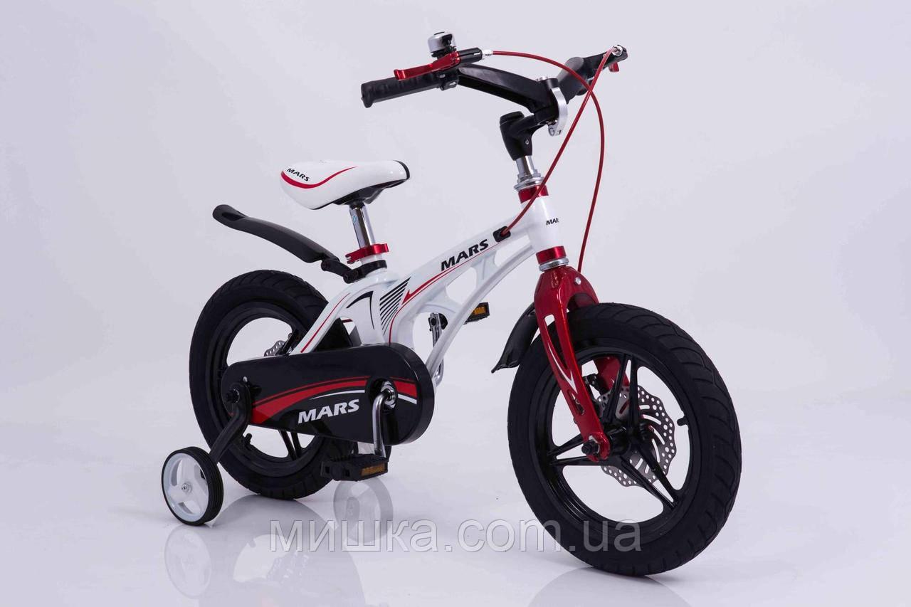 """Детский велосипед SIGMA MARS-14"""" White"""