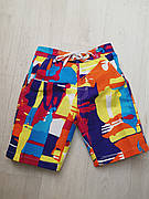 Шорты пляжные детские оранжевые - 157-01-2