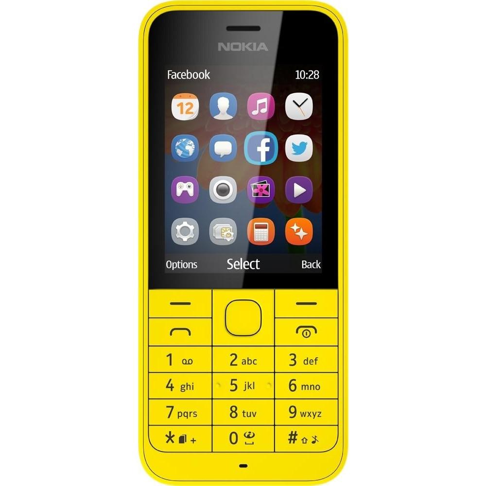 Мобільний телефон NOKIA 220 Yellow