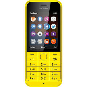 Мобільний телефон NOKIA 220 Yellow, фото 2