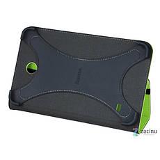 Чехол-книжка Hama для Samsung Galaxy Tab 4 7.0 Weave ser. Светло-зеленый (00126755), фото 3