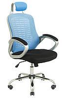 Кресло Тенерифе AnyFix черно-голубой, фото 1