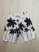 Шорты пляжные детские белые -157-02